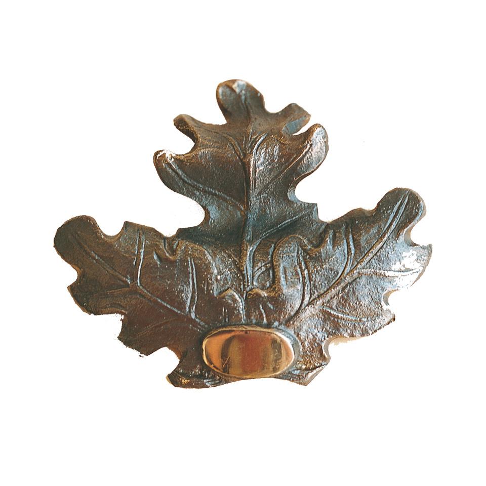 Eichenblatt-Verzierung Bronze