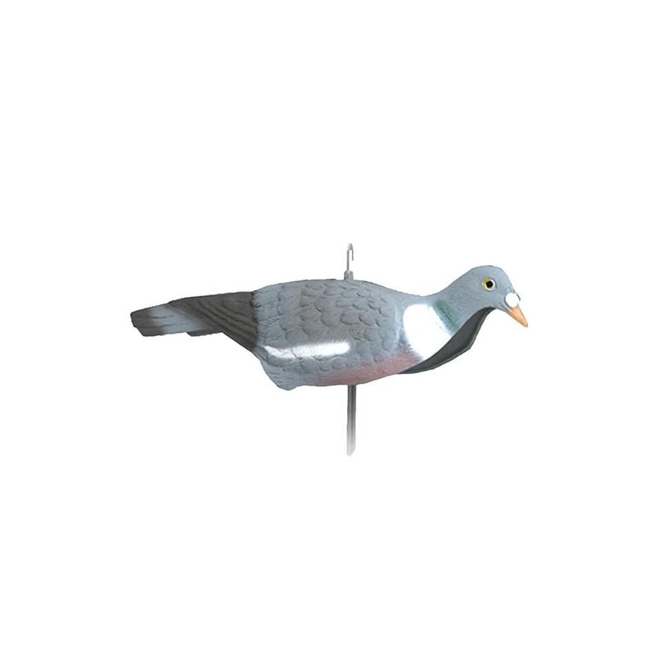 Lockvogel Ringeltaube beweglich