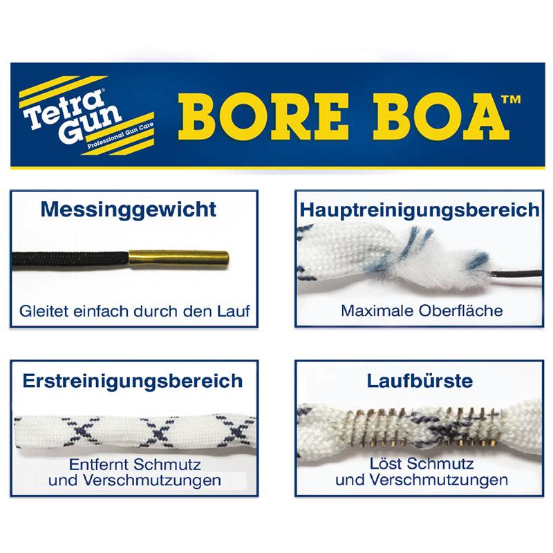 TETRA GUN Bore Boa™ Lauf-Reinigungsschnur für Langwaffen