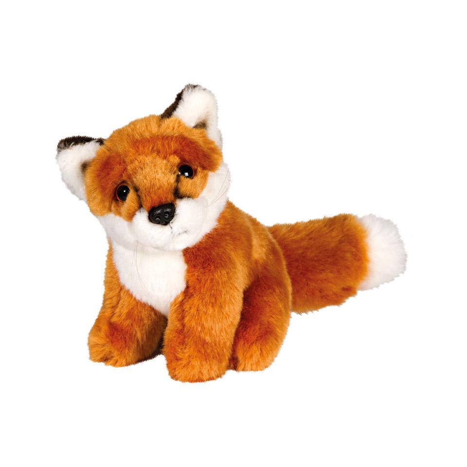 Plüschtier sitzender Fuchs