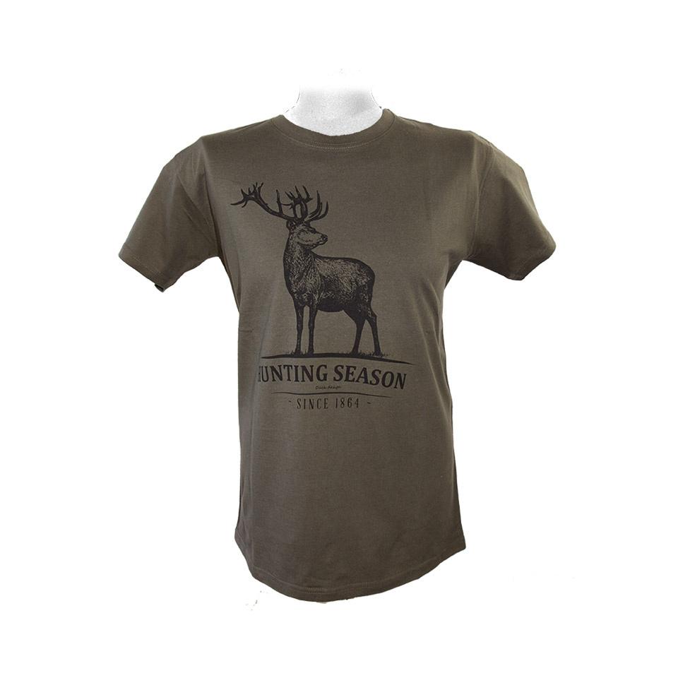 JAGD T-Shirt HIRSCH