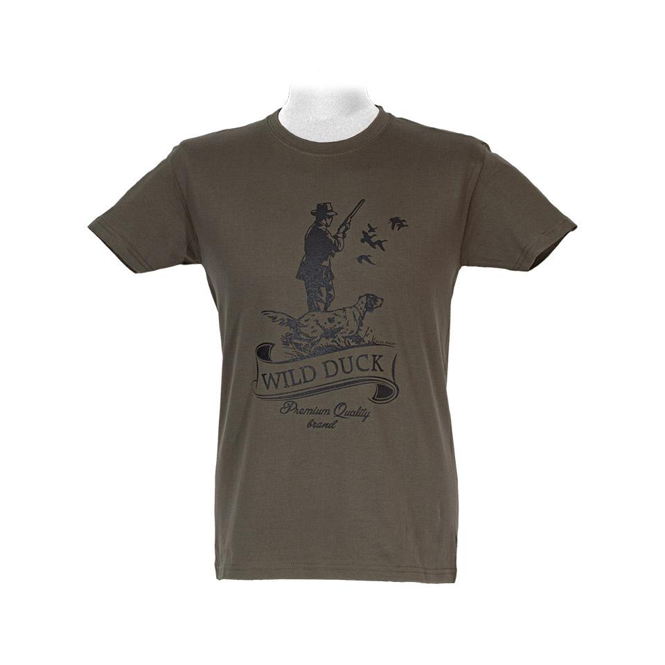 JAGD T-Shirt JÄGER MIT HUND