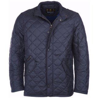 BARBOUR Flyweight Chelsea Quilt Jacke Navy L