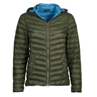 BARBOUR - Highgate Jacke Quilt Olive Blue Heaven