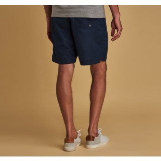 BARBOUR - Swim Short Badehose Logo 7 Navy
