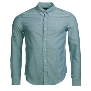 BARBOUR Hemd Oxford 3 Grün 3XL