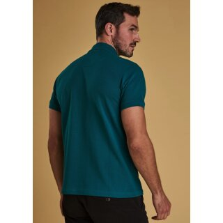 BARBOUR - Sports Polo Spruce Grün