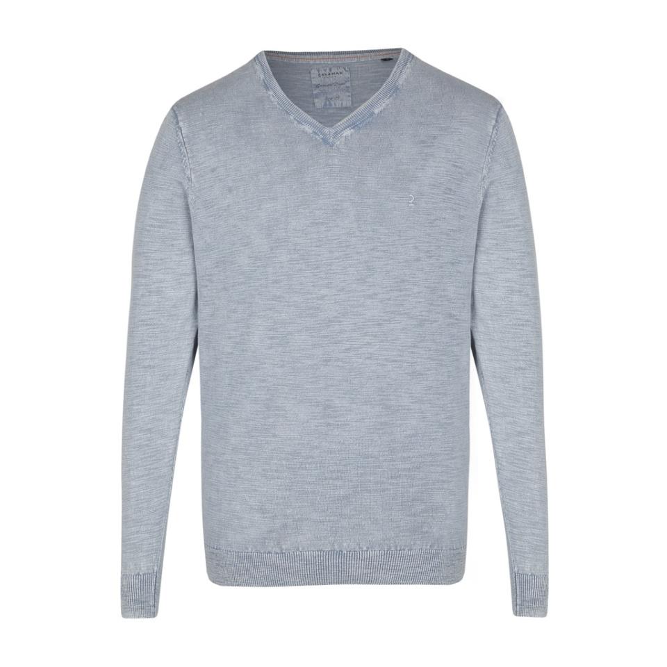 CALAMAR Pullover V Ashley Blue
