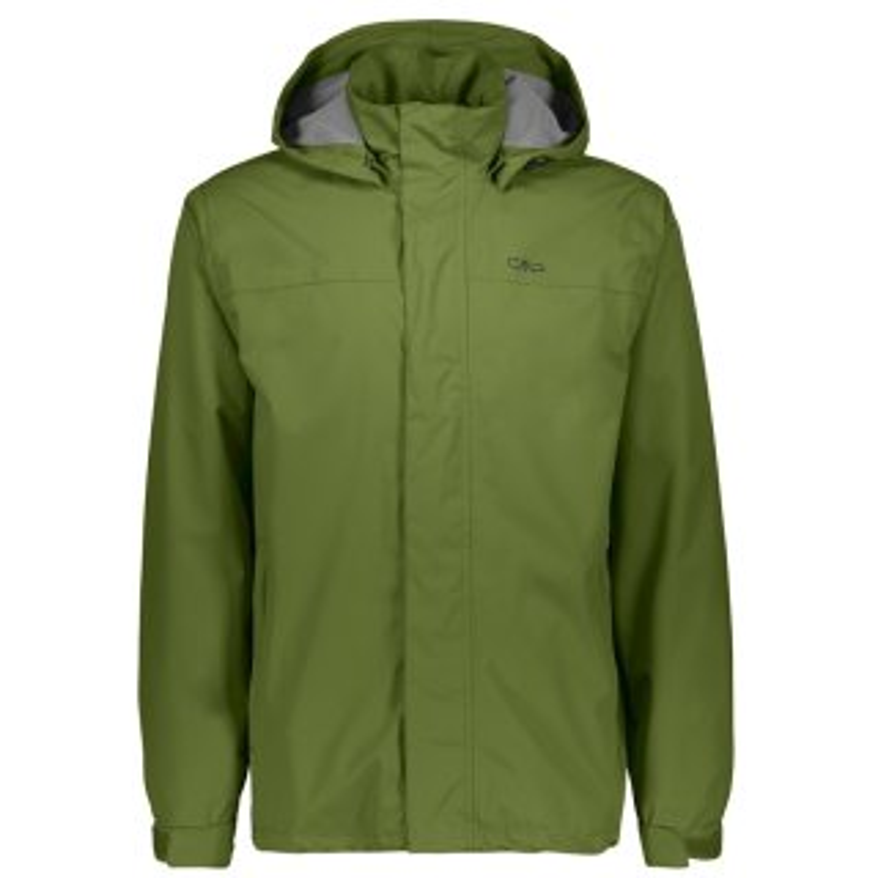 CMP Man Jacket Buttons Hood Kiwi Grün
