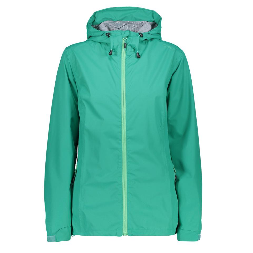 CMP Regenjacke Fix Hood Mint Grün für Damen
