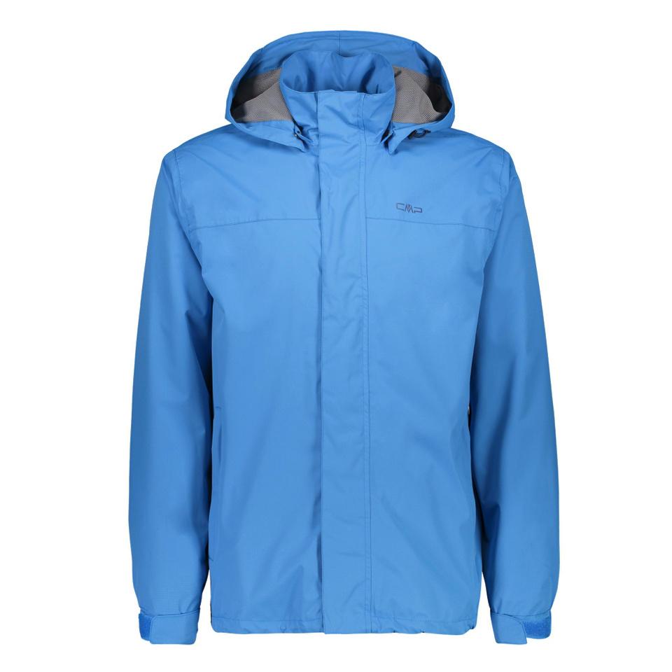 CMP - Man Jacket Buttons Hood Indigo Blau
