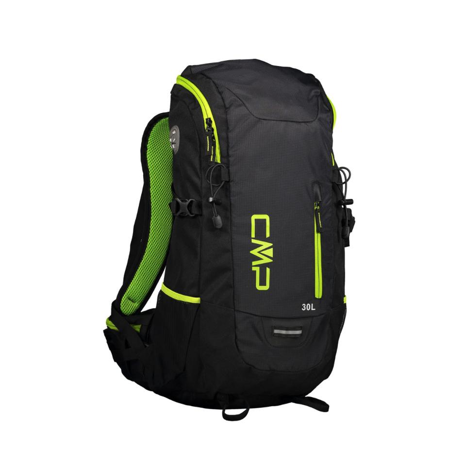 CMP - Hayabusa 30 Backpack Rucksack Nero Black Neon