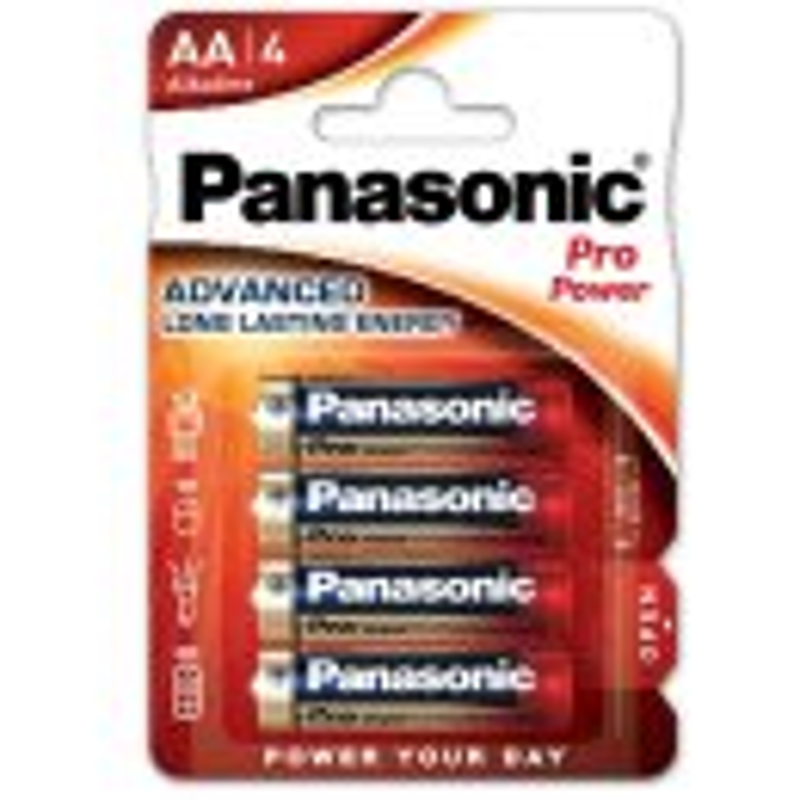 PANASONIC Alkaline Batterien Pro Power Mignon AA LR6 1,5V/4