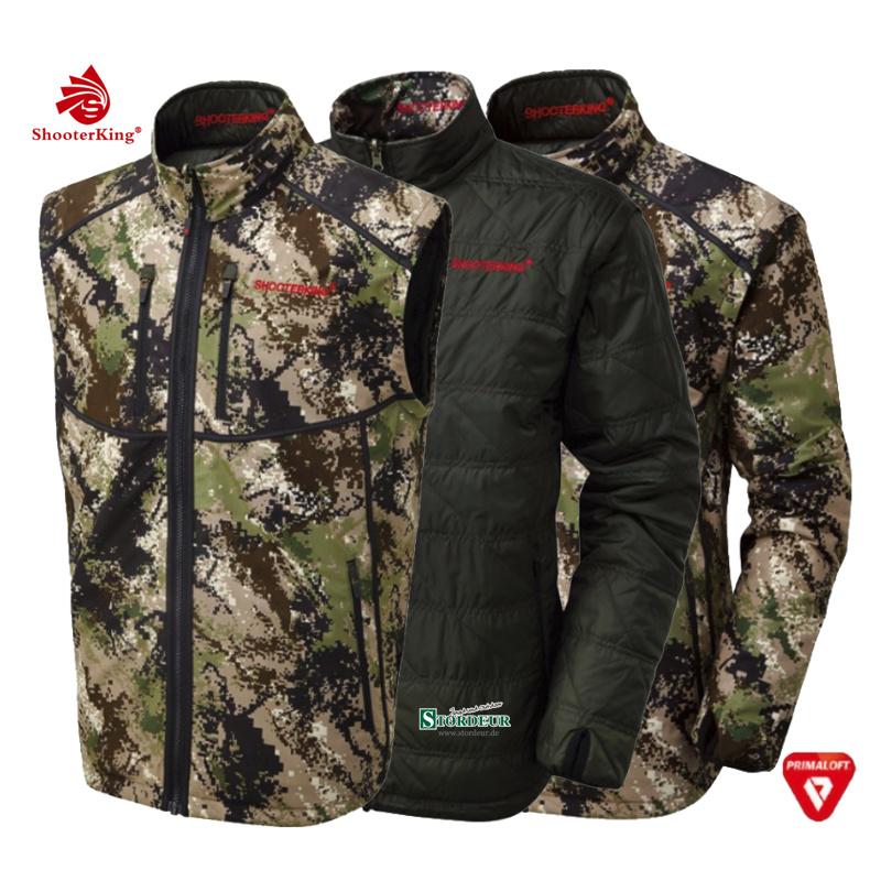 SHOOTERKING Digitex Reversible Jacket 3in1