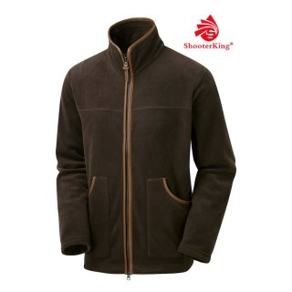 SHOOTERKING - Performance Fleece Jacke Braun
