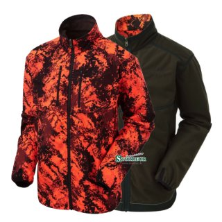 SHOOTERKING - Digitex Softshell 2 in 1 Wendejacke Blaze Braun