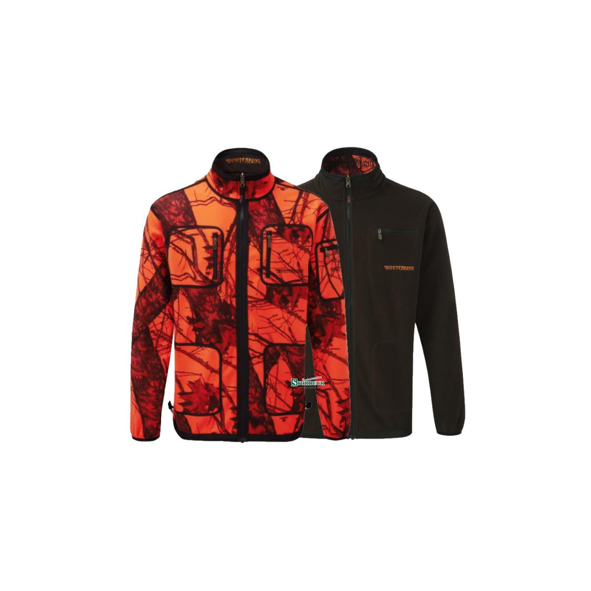 3f4aa793842c86 SHOOTERKING - Softshell Herren Jacke 2 in 1 Mossy Blaze Orange, 129,0