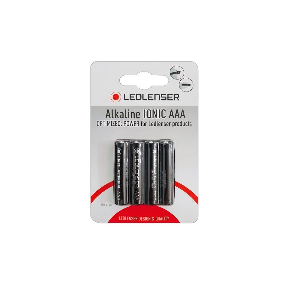 LedLenser - Alkaline Ionic AAA Batterien