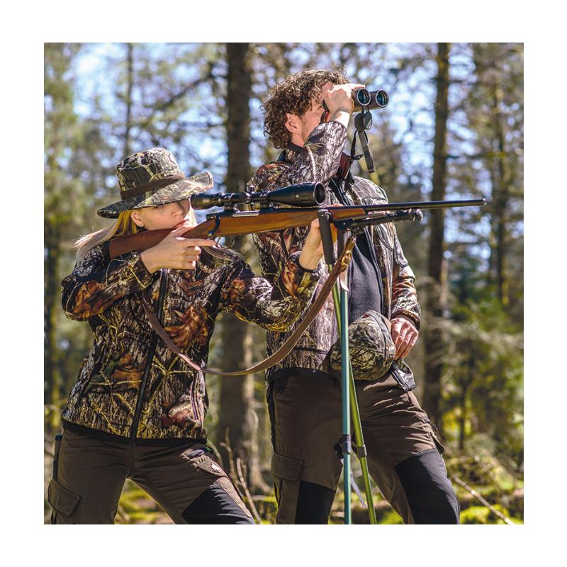 SHOOTERKING Softshell Herren Jacke 2 in 1 Mossy Oak Camo