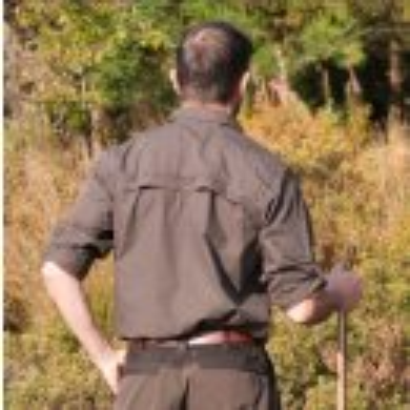 SHOOTERKING Forest Shirt Strech Hemd Braun