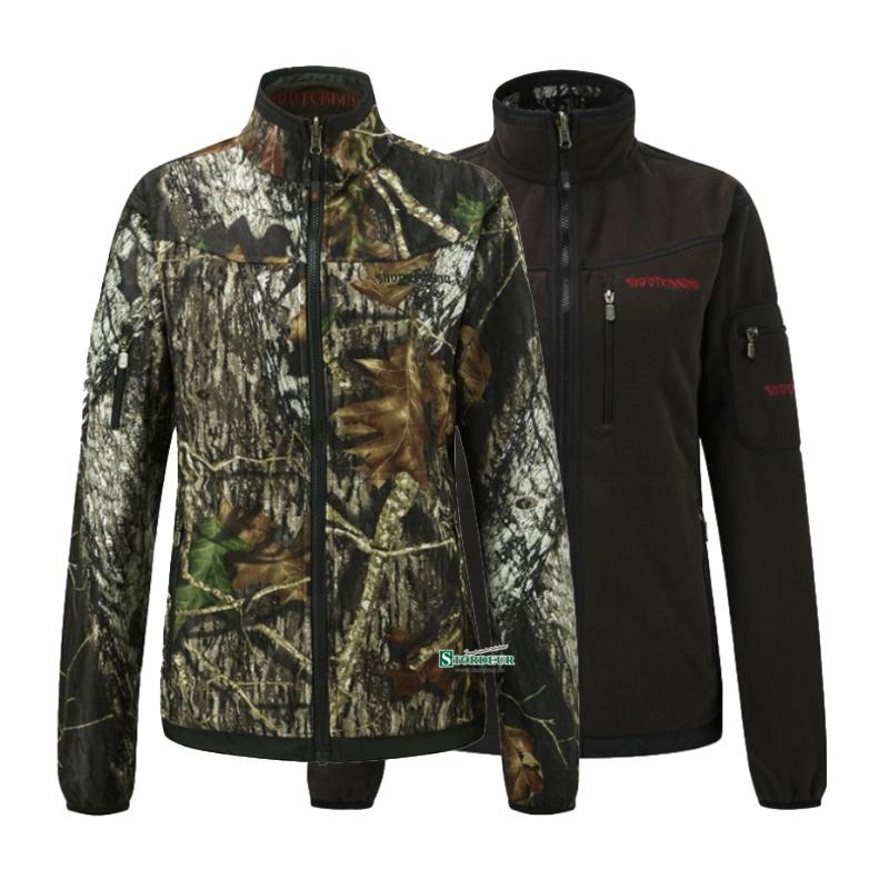 SHOOTERKING Softshell Damen Jacke 2 in 1 Mossy Oak Camo