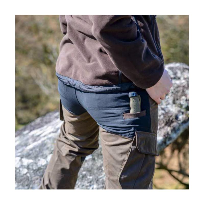 SHOOTERKING Cordura Hose Damen zweifarbig schwarz olive