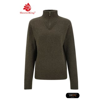 SHOOTERKING - Women`s Jumper Oliv/braun