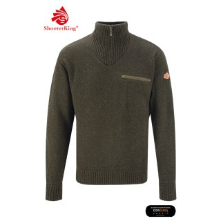 SHOOTERKING - Men`s Jumper oliv