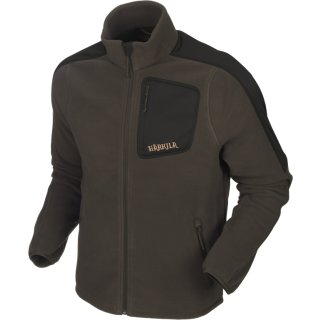 HÄRKILA - Venjan Fleecejacke Shadow Braun/ Willow Green