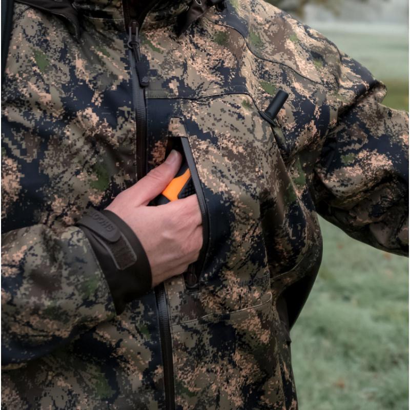 SHOOTERKING Huntflex Jacke Digital Camo Forest Mist