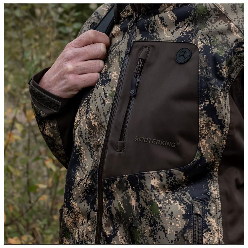 SHOOTERKING Huntflex Damen Jacke Digital Camo Forest Mist