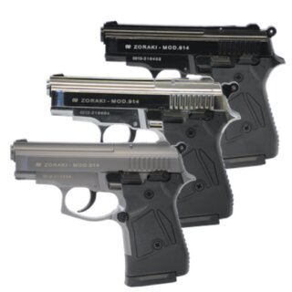 ZORAKI 914 Schreckschuss Pistole 9mm P.A.K.
