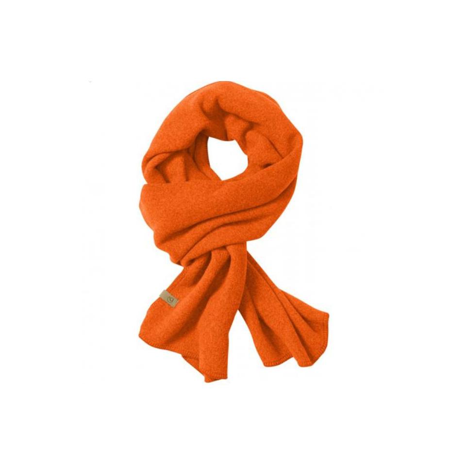 FJÄLLRÄVEN Lappland Fleece Scarf Safety Orange One Size