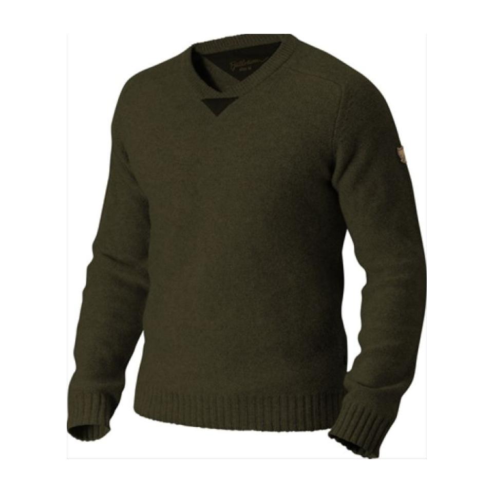 FJÄLLRÄVEN Woods Sweater Dark Olive