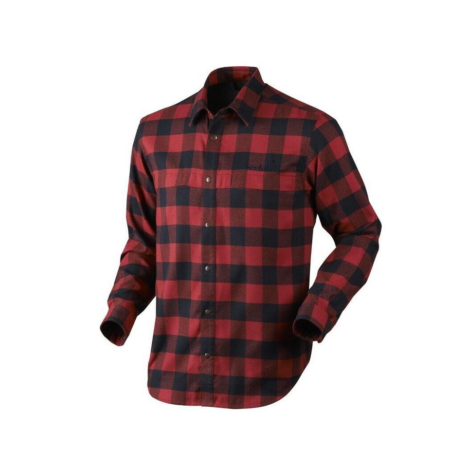 SEELAND REDWOOD Shirt Lumber Check