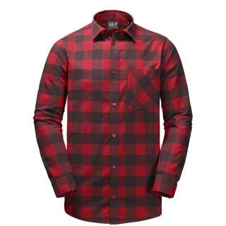 JACK WOLFSKIN Red River Shirt indian rot