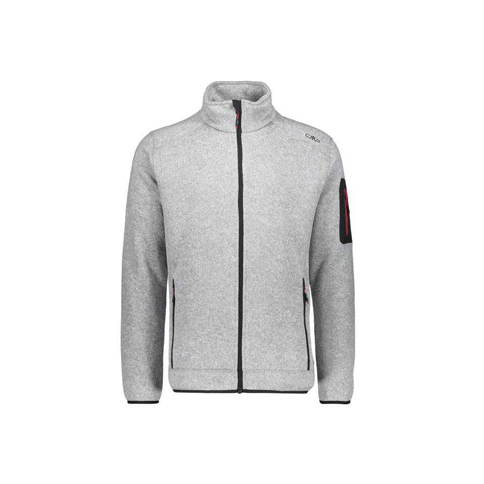 CMP - Man Jacket Stickjacke Grau