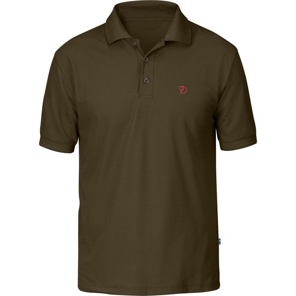 FJÄLLRÄVEN Crowley Pique Shirt M dark olive