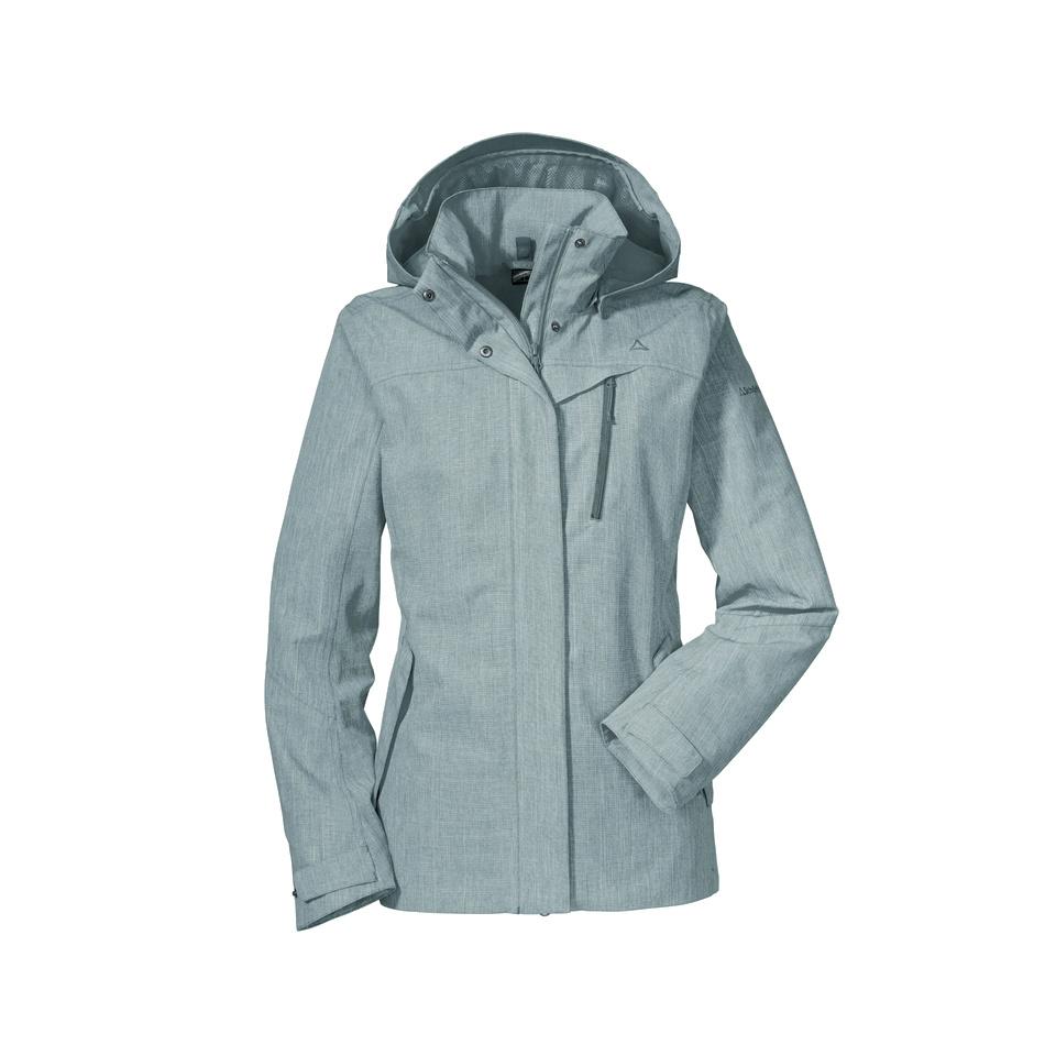 SCHÖFFEL ZipIn! Jacket Frontanella3 meliert
