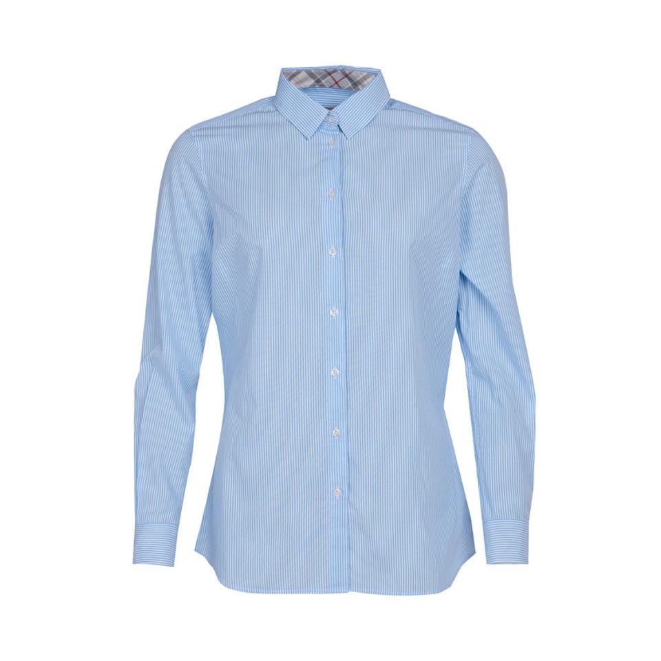 BARBOUR Dorset Shirt Blue White