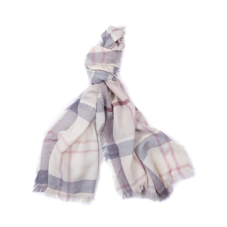 BARBOUR Freya Wrap Schal Tuch BlossTartan