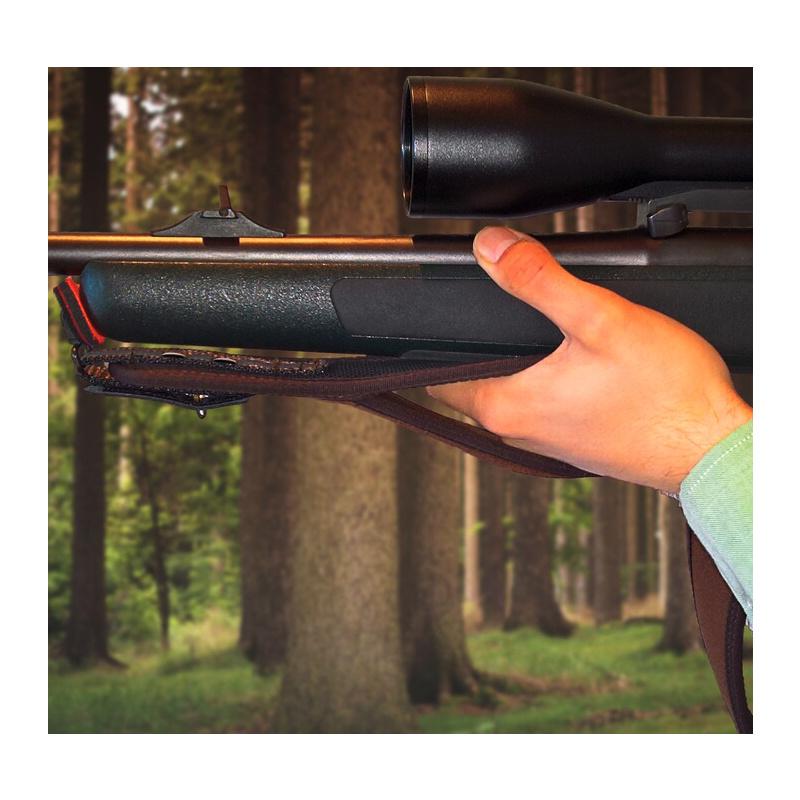 NIGGELOH Gewehrgurt PULL mit SV Trail Gelb Rot