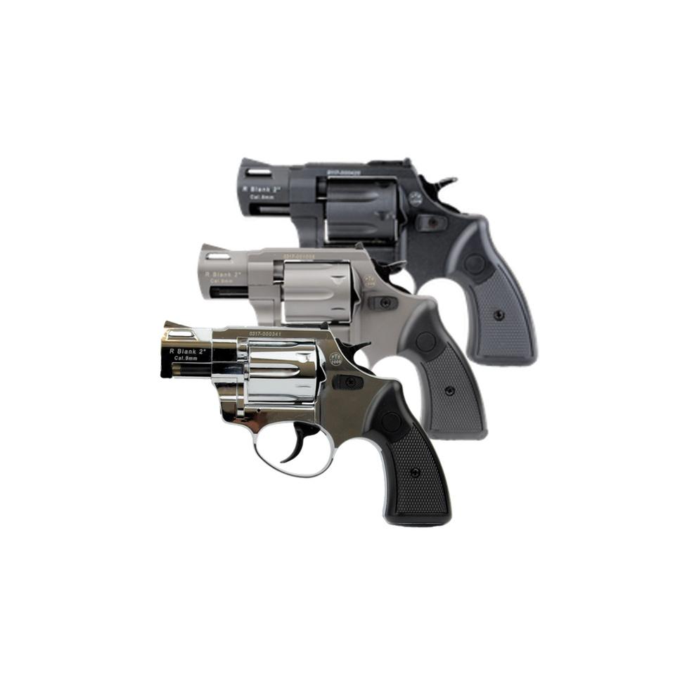 ZORAKI R2 Schreckschuss Revolver 2 Zoll 9mm R.K.