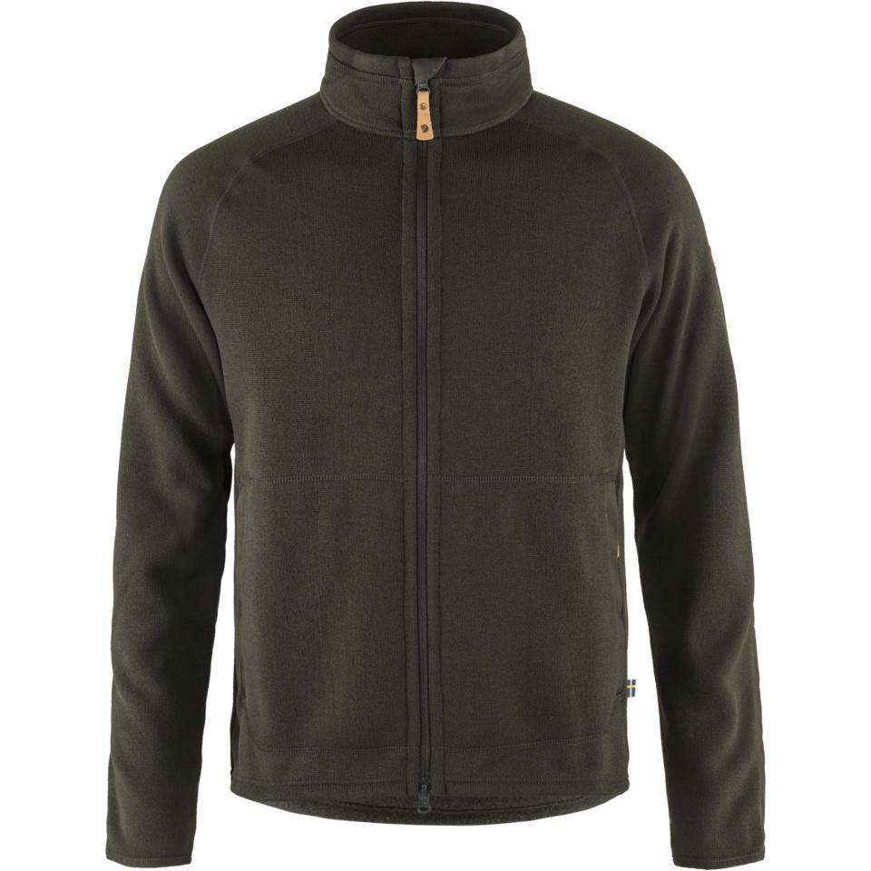 FJÄLLRÄVEN Övik Fleece Zip Sweater M