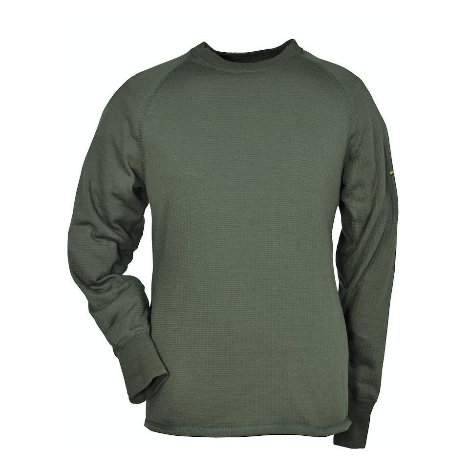 THERMO FUNCTION Unterhemd Rundhals Olive TS 400