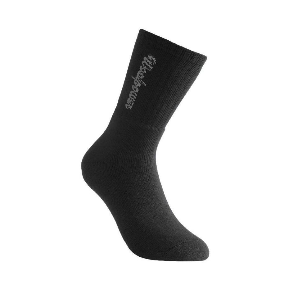 WOOLPOWER Socken Classic mit Logo 400 Black
