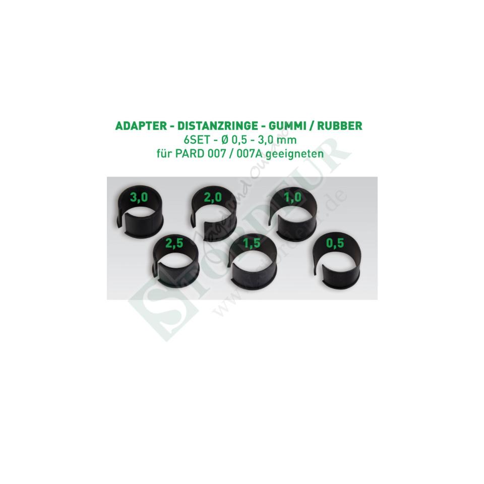PARD Distanzringe aus Gummi 6 Größen für Nachtsichtgerät 007/ 007A