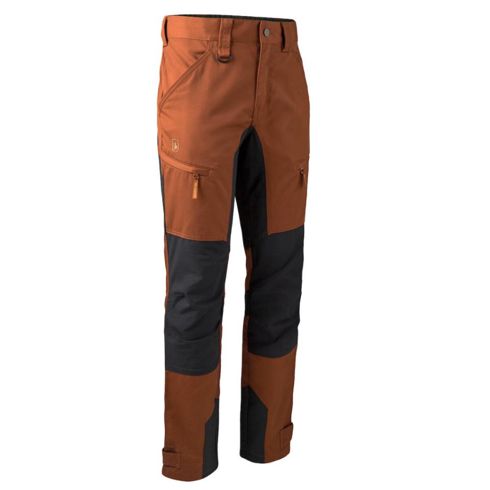 DEERHUNTER Rogaland Stretchhose mit kontrast Burnt Orange