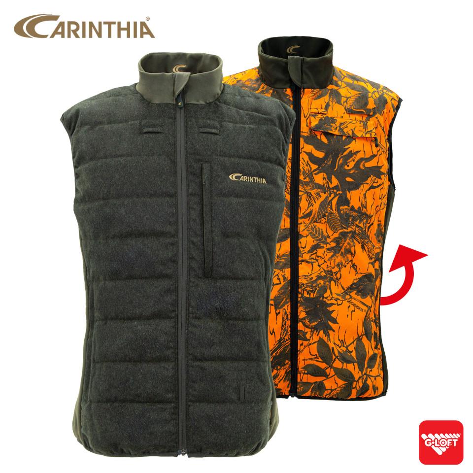 CARINTHIA G-LOFT® Ultra Loden Wendeweste