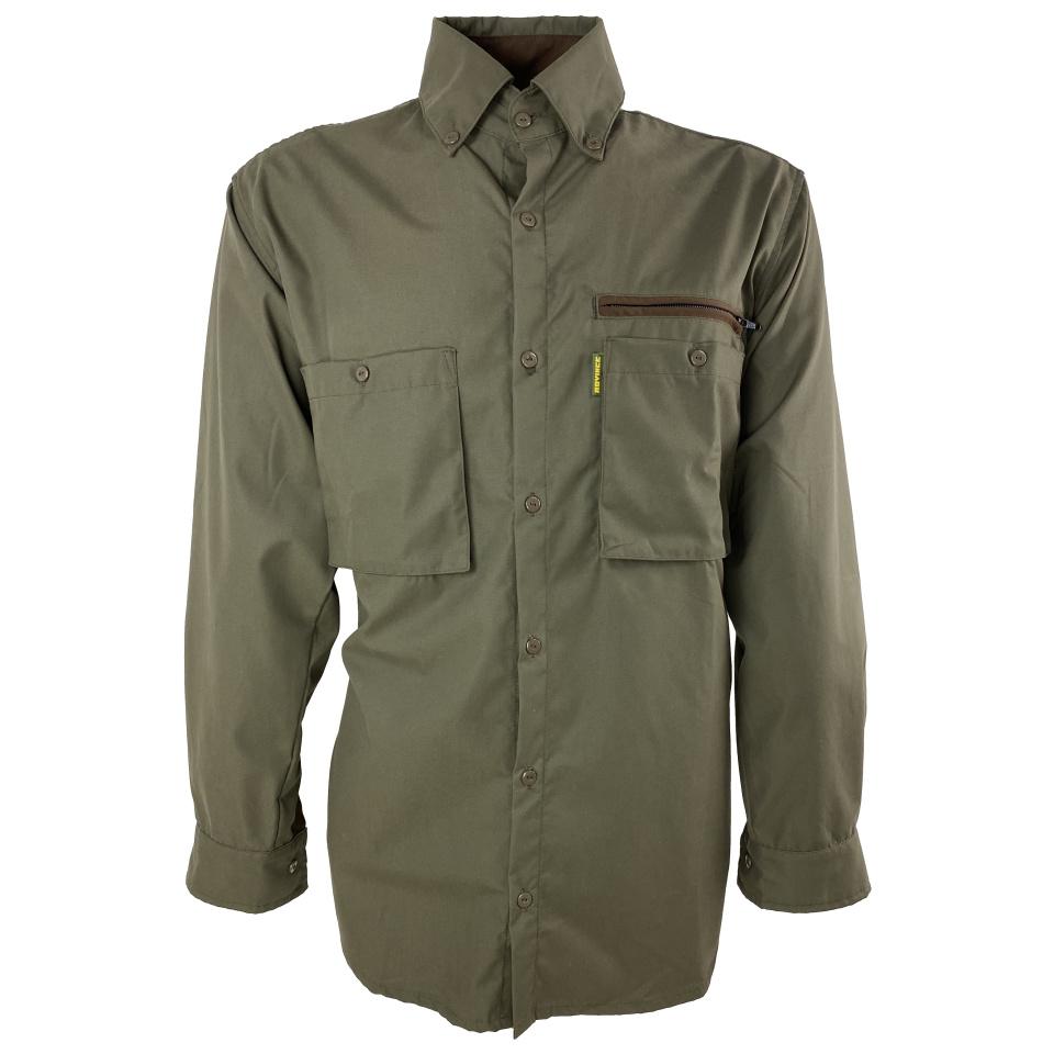 ROVINCE Zeckenschutzhemd Ergoline Herren Grün M & 3XL